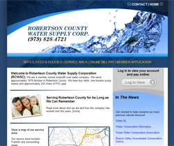 Robertson County Water Supply Corporation